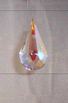 Crystal Ice Crystal (Leaded) Tear Drop