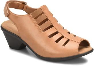 Comfortiva by Softspots Peep-Toe Leather Sandal s - Faye