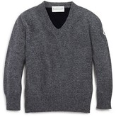 Moncler Boys' V-Neck Sweater - Sizes 8-14