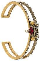 Alexander McQueen skull crown bracelet