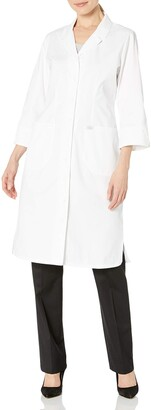 Dickies Women's Button Notched Collar and Lapel Front Dress