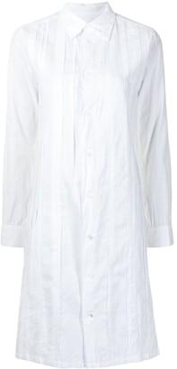 Yohji Yamamoto Pre-Owned Panelled Shirt Dress