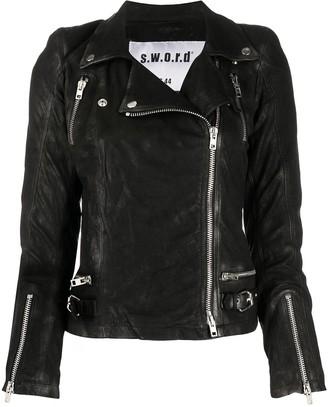 S.W.O.R.D 6.6.44 Leather Biker Jacket
