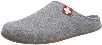Living Kitzbühel Unisex Adults' Pant. Schweizer Kreuz& Fußbett Open Back Slippers,6.5 UK