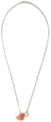 Proenza Schouler Gold-tone Stone Necklace