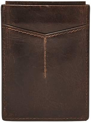 Fossil Derrick Leather Card Case