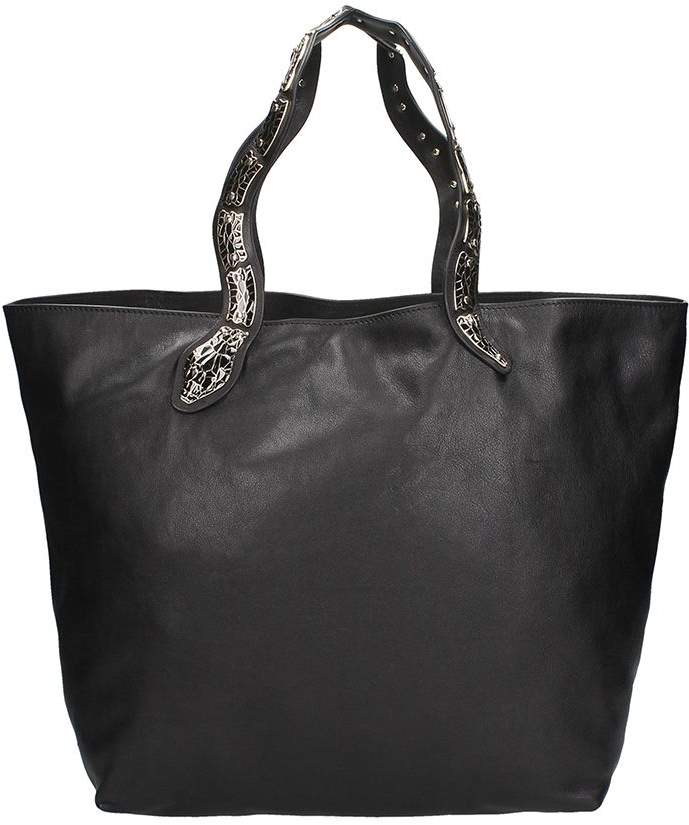 RED Valentino Snake Tote Bag
