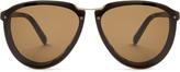 Marni Aviator acetate sunglasses