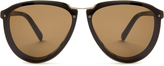 Marni Visor aviator sunglasses