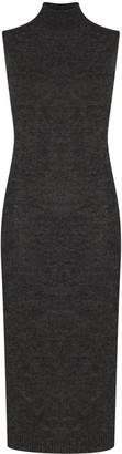 Fendi Roll-Neck Sleeveless Knitted Dress