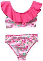 Betsey Johnson Ruffle 2-Piece Swimsuit (Toddler Girls)