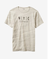 Express Marble Nyc Graphic Tee