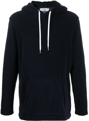Closed Plain Long Sleeve Hoodie