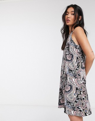 Only Nova maxi cami dress in paisley print