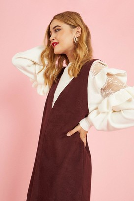 Coast Frill And Lace Detail Jumper