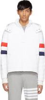 Thom Browne White Down Ski Jacket