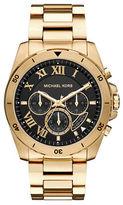 Michael Kors Brecken Goldtone Stainless Steel Bracelet Watch