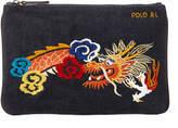 Polo Ralph Lauren Ralph Lauren Dragon Canvas Mini Zip Pouch