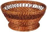 Jay Import Honey Rattan Pedestal Bowl