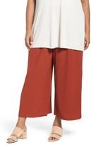 Eileen Fisher Plus Size Women's Wide Leg Pants