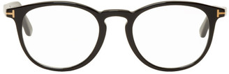 Tom Ford Black Soft Round Glasses