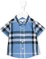 Burberry Fred shirts - kids - Cotton - 6 mth