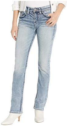 Silver Jeans Co. Suki High-Rise Baby Bootcut Jeans L94514SJB177 (Indigo) Women's Jeans