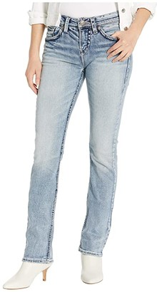 Silver Jeans Co. Suki High-Rise Baby Bootcut Jeans L94514SJB177