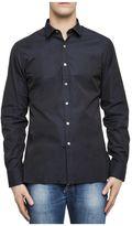 Lanvin Blue Cotton Shirt