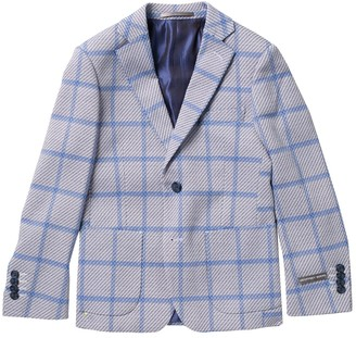 Isaac Mizrahi Waffle Knit Blazer (Toddler, Little Boys, & Big Boys)