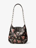 Oversized Large Black Purse Handbag Snakeskin Print BC5