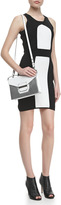 Milly Colorblock Ponte Sheath Dress