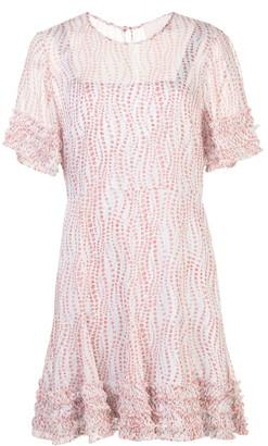 Cinq à Sept Ashton Floral Print Dress