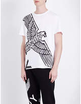Boy London Eagle-print Cotton-jersey T-shirt