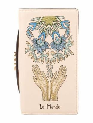 Christian Dior Le Monde Tarot Clutch Gold