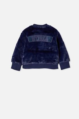 Nrl Kids Fur Bomber Jacket