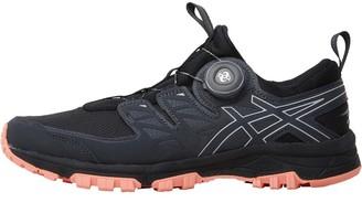 Asics Womens GEL-FujiRado Trail Running Shoes Phantom/Mid Grey/Begonia Pink