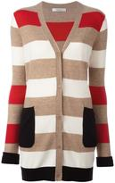 Max Mara cashmere striped mid cardigan - women - Cashmere - L