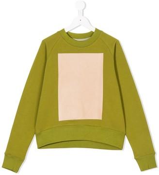 Ioana Ciolacu Kids Colour-Block Sweatshirt
