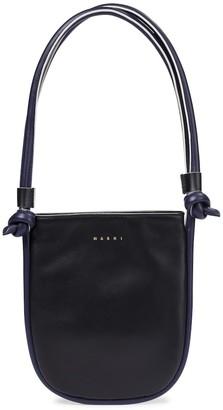 Marni Marcel Knot Small leather shoulder bag