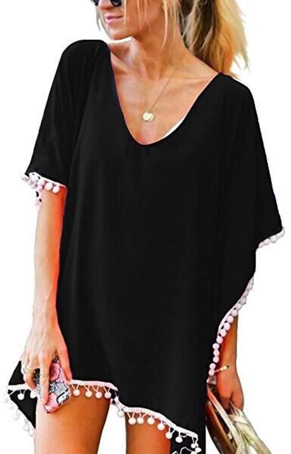 806bc4a6fc Black Swimsuit With Colour Trim - ShopStyle Canada