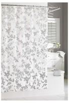 "Kassatex Floral Ombre Shower Curtain Grey (74""x74"")"
