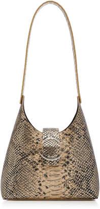 IMAGO-A Mini Snake-Print Leather Shoulder Bag