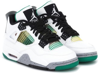 Nike Air Jordan 4 Retro leather sneakers