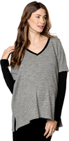A Pea in the Pod Drew Drop Shoulder Maternity Sweater