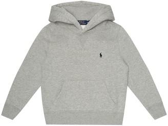 Polo Ralph Lauren Kids Cotton-blend hoodie