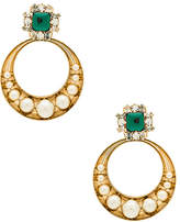 Anton Heunis Gemcluster Removable Hoops
