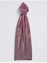 M&S Collection Modal Blend Sparkle Scarf