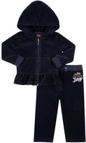Juicy Couture Outlet - BABY LOGO VELOUR GLAMOROUS JC TRACK SET