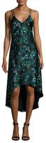 Haute Hippie Silk Camisole High-Low Dress